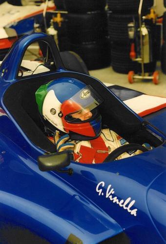 Giorgio Vinella Campionato Internazionale Formula 3000 1998 Imola Coloni box