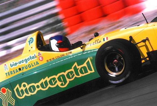 Giorgio Vinella Campionato Internazionale Formula 3000 1998 Nurburgring Coloni