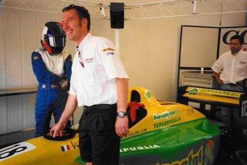 Giorgio Vinella Campionato Internazionale Formula 3000 1998 Nurburgring Team Coloni 1
