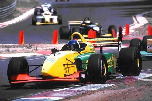 Giorgio Vinella Campionato Internazionale Formula 3000 1998 Pergusa Coloni chicane