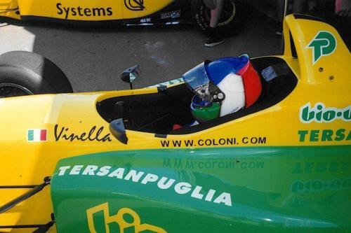 Giorgio Vinella Campionato Internazionale Formula 3000 1998 Pergusa Team Coloni
