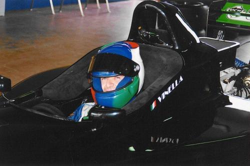 Giorgio Vinella Formula 3000 Championship 1999 Donington Park Team Martello Racing 2