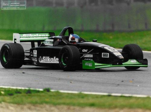 Giorgio Vinella Formula 3000 Championship 1999 Imola Team Martello Racing wet race