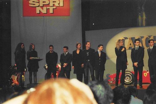 Giorgio Vinella Formula 3000 Championship 1999 Italian Champion Motor Show Bologna Caschi d'oro awards gold medal