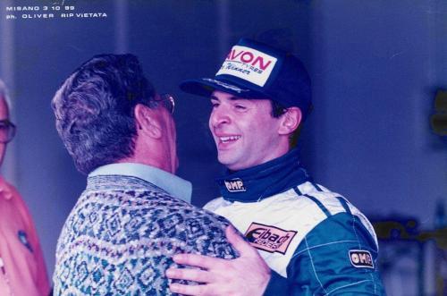 Giorgio Vinella Formula 3000 Championship 1999 Misano AdriaticoTeam Martello Racing win victory Mario Vinella 0