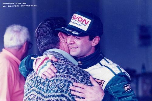 Giorgio Vinella Formula 3000 Championship 1999 Misano AdriaticoTeam Martello Racing win victory Mario Vinella 1