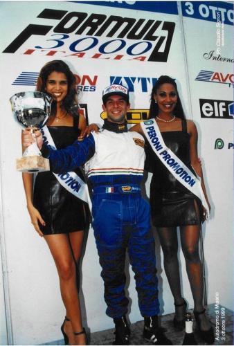 Giorgio Vinella Formula 3000 Championship 1999 Misano AdriaticoTeam Martello Racing win victory podium