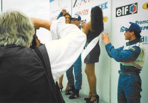 Giorgio Vinella Formula 3000 Championship 1999 Misano AdriaticoTeam Martello Racing win victory podium Thomas Biagi Lupberger
