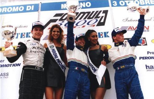 Giorgio Vinella Formula 3000 Championship 1999 Misano AdriaticoTeam Martello Racing win victory podium Thomas Biagi Lupberger 10