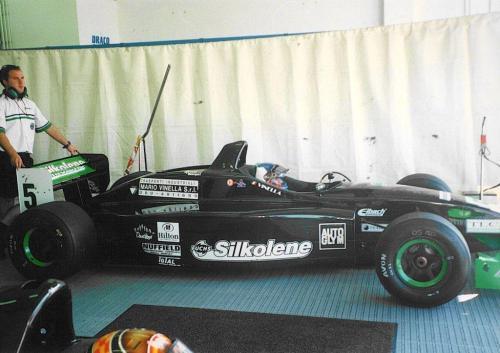 Giorgio Vinella Formula 3000 Championship 1999 Misano Adriatico Team Martello Racing 1