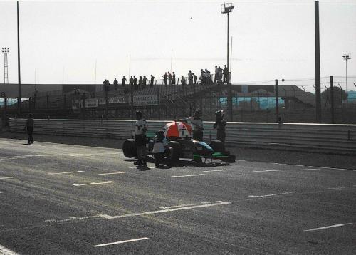 Giorgio Vinella Formula 3000 Championship 1999 Misano Adriatico Team Martello Racing starting grid 2