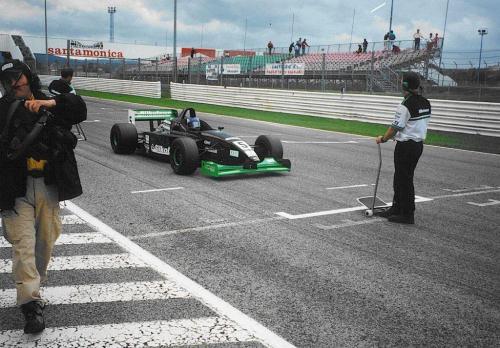 Giorgio Vinella Formula 3000 Championship 1999 Misano Adriatico Team Martello Racing starting grid 4