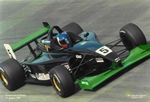 Giorgio Vinella Formula 3000 Championship 1999 Monza Team Martello Racing ascari
