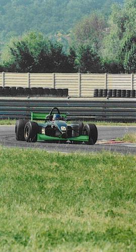 Giorgio Vinella Campionato Formula 3000 1999 Magione Team Martello Racing Test
