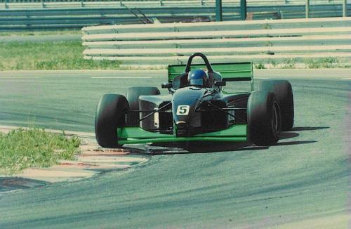Giorgio Vinella Campionato Formula 3000 1999 Magione Team Martello Racing Test 1