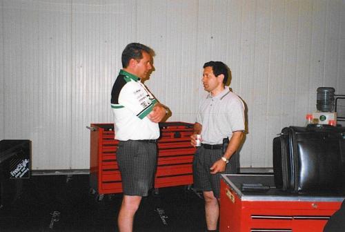 Giorgio Vinella Campionato Formula 3000 1999 Misano AdriaticoTeam Martello Racing vittoria podio Mick Kouros Andy Chisolm