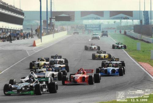 Giorgio Vinella Campionato Formula 3000 1999 Misano Adriatico Team Martello Racing