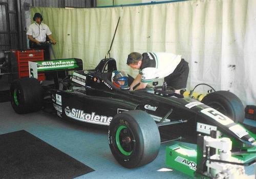 Giorgio Vinella Campionato Formula 3000 1999 Misano Adriatico Team Martello Racing 2