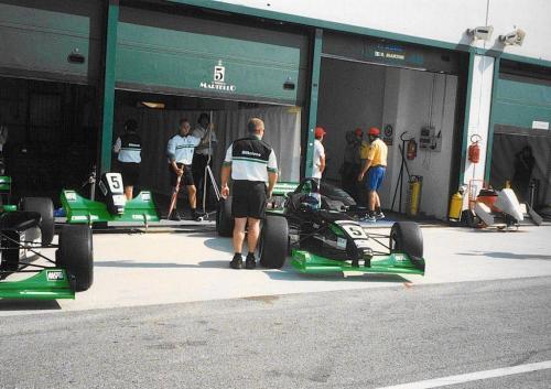 Giorgio Vinella Campionato Formula 3000 1999 Misano Adriatico Team Martello Racing 3