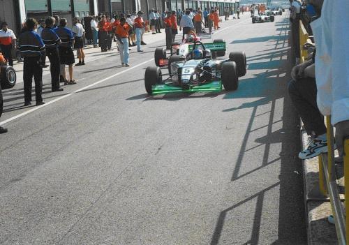 Giorgio Vinella Campionato Formula 3000 1999 Misano Adriatico Team Martello Racing 4