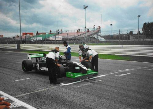 Giorgio Vinella Campionato Formula 3000 1999 Misano Adriatico Team Martello Racing griglia partenza 2