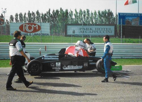 Giorgio Vinella Campionato Formula 3000 1999 Misano Adriatico Team Martello Racing griglia partenza 4