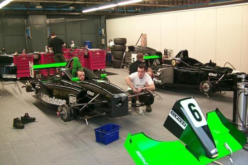 Giorgio Vinella Campionato Formula 3000 1999 Monza Team Martello Racing box 1