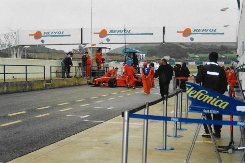 Giorgio Vinella Formula 1 December 1999 Jerez de la Frontera Champion F3000 Minardi Alonso Fiorio Barrichello Gené