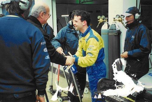 Giorgio Vinella Formula 1 December 1999 Jerez de la Frontera Champion F3000 Minardi Alonso Fiorio Rumi Marc Gené