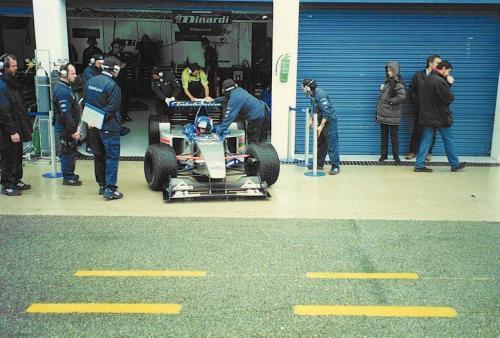 Giorgio Vinella Formula 1 Dicembre 1999 Jerez de la Frontera Campione F3000 Minardi Alonso Fiorio Sundberg Marc Gené 12