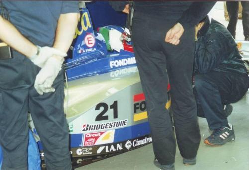 Giorgio Vinella Formula 1 Minardi December 1999 Jerez de la Frontera Champion F3000 Alonso Fiorio Sundberg Gené 1