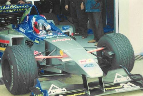 Giorgio Vinella Formula 1 Minardi December 1999 Jerez de la Frontera Champion F3000 Alonso Fiorio Sundberg Gené 10
