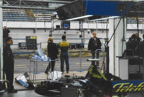 Giorgio Vinella Formula 1 Minardi December 1999 Jerez de la Frontera Champion F3000 Alonso Fiorio Sundberg Gené 13
