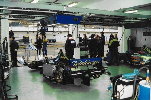 Giorgio Vinella Formula 1 Minardi December 1999 Jerez de la Frontera Champion F3000 Alonso Fiorio Sundberg Gené 14