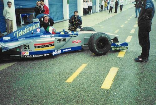 Giorgio Vinella Formula 1 Minardi December 1999 Jerez de la Frontera Champion F3000 Alonso Fiorio Sundberg Gené 15