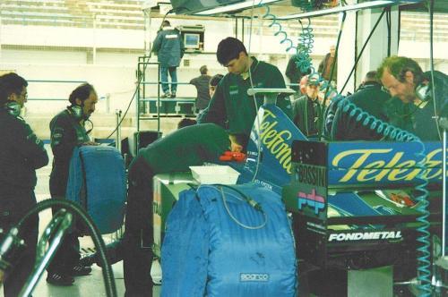 Giorgio Vinella Formula 1 Minardi December 1999 Jerez de la Frontera Champion F3000 Alonso Fiorio Sundberg Gené 2