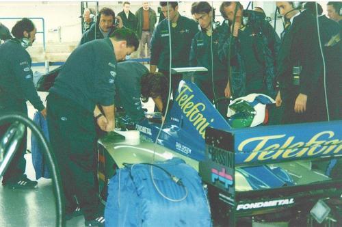 Giorgio Vinella Formula 1 Minardi December 1999 Jerez de la Frontera Champion F3000 Alonso Fiorio Sundberg Gené 3