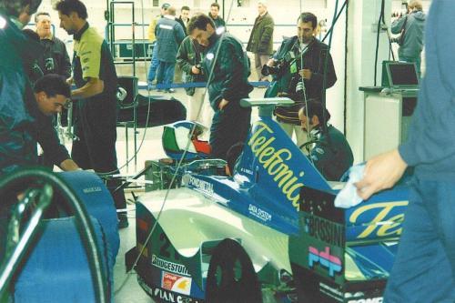 Giorgio Vinella Formula 1 Minardi December 1999 Jerez de la Frontera Champion F3000 Alonso Fiorio Sundberg Gené 4