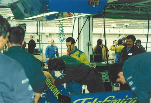 Giorgio Vinella Formula 1 Minardi December 1999 Jerez de la Frontera Champion F3000 Alonso Fiorio Sundberg Gené 5