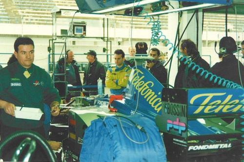 Giorgio Vinella Formula 1 Minardi December 1999 Jerez de la Frontera Champion F3000 Alonso Fiorio Sundberg Gené 6