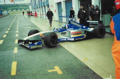 Giorgio Vinella Formula 1 Minardi December 1999 Jerez de la Frontera Champion F3000 Alonso Fiorio Sundberg Gené 7
