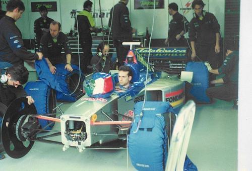 Giorgio Vinella Formula 1 Minardi December 1999 Jerez de la Frontera Champion F3000 Alonso Fiorio Sundberg Gené 8