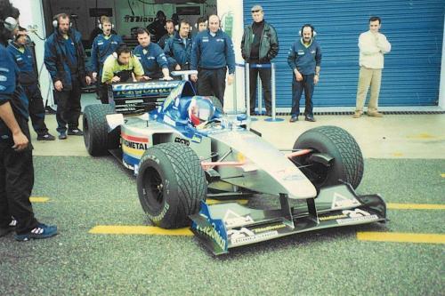 Giorgio Vinella Formula 1 Minardi December 1999 Jerez de la Frontera Champion F3000 Alonso Fiorio Sundberg Gené 9