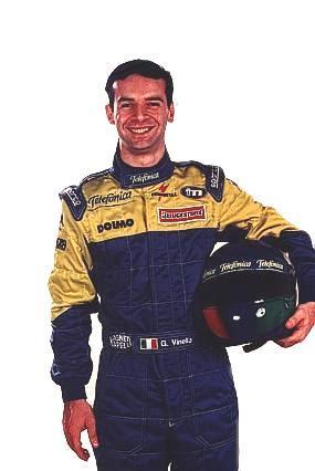 Giorgio Vinella Official Test Driver Formula 1 Champion F3000 Mugello  Minardi F Alonso Fiorio Gené Foto team photo