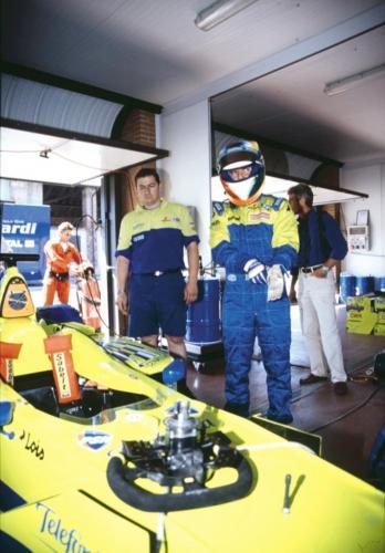 Giorgio Vinella Official Test Driver Formula 1 Champion F3000 Vairano Mugello  Minardi Fernando Alonso Fiorio Gené 5