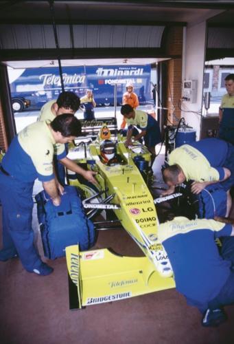 Giorgio Vinella Official Test Driver Formula 1 Champion F3000 Vairano Mugello  Minardi Fernando Alonso Fiorio Marc Gené 1