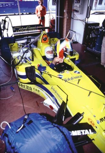 Giorgio Vinella Official Test Driver Formula 1 Champion F3000 Vairano Mugello  Minardi Fernando Alonso Fiorio Marc Gené 11