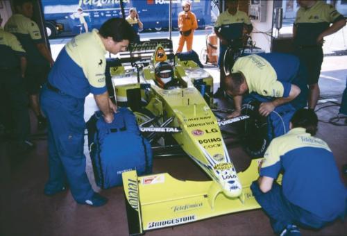 Giorgio Vinella Official Test Driver Formula 1 Champion F3000 Vairano Mugello  Minardi Fernando Alonso Fiorio Marc Gené 2