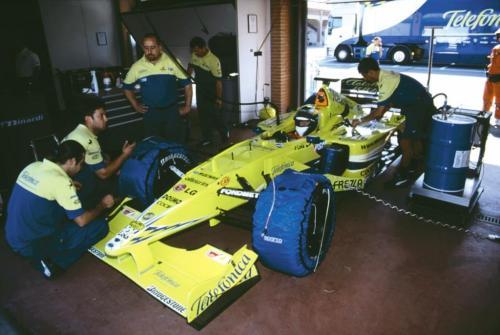 Giorgio Vinella Official Test Driver Formula 1 Champion F3000 Vairano Mugello  Minardi Fernando Alonso Fiorio Marc Gené 3