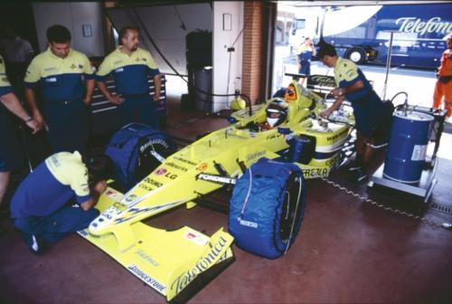 Giorgio Vinella Official Test Driver Formula 1 Champion F3000 Vairano Mugello  Minardi Fernando Alonso Fiorio Marc Gené 4
